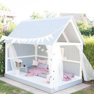 Photo of DIY Gartenhaus für große Mädchen // Spielhaus für Kinder – delari