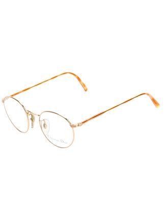 f322b6bc4252 Christian Dior Vintage round frame glasses