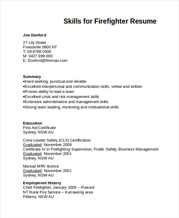 Skills for firefighter resume firefighting file pinterest skills for firefighter resume firefighting file pinterest firefighter resume firefighter and firefighting altavistaventures Choice Image