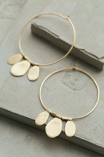 Photo of gorgeous gold hoop earrings #diamondearrings