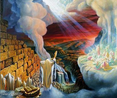 Yossi Rosenstein-Shofar Blowing | Jewish art, Art painting oil, Art