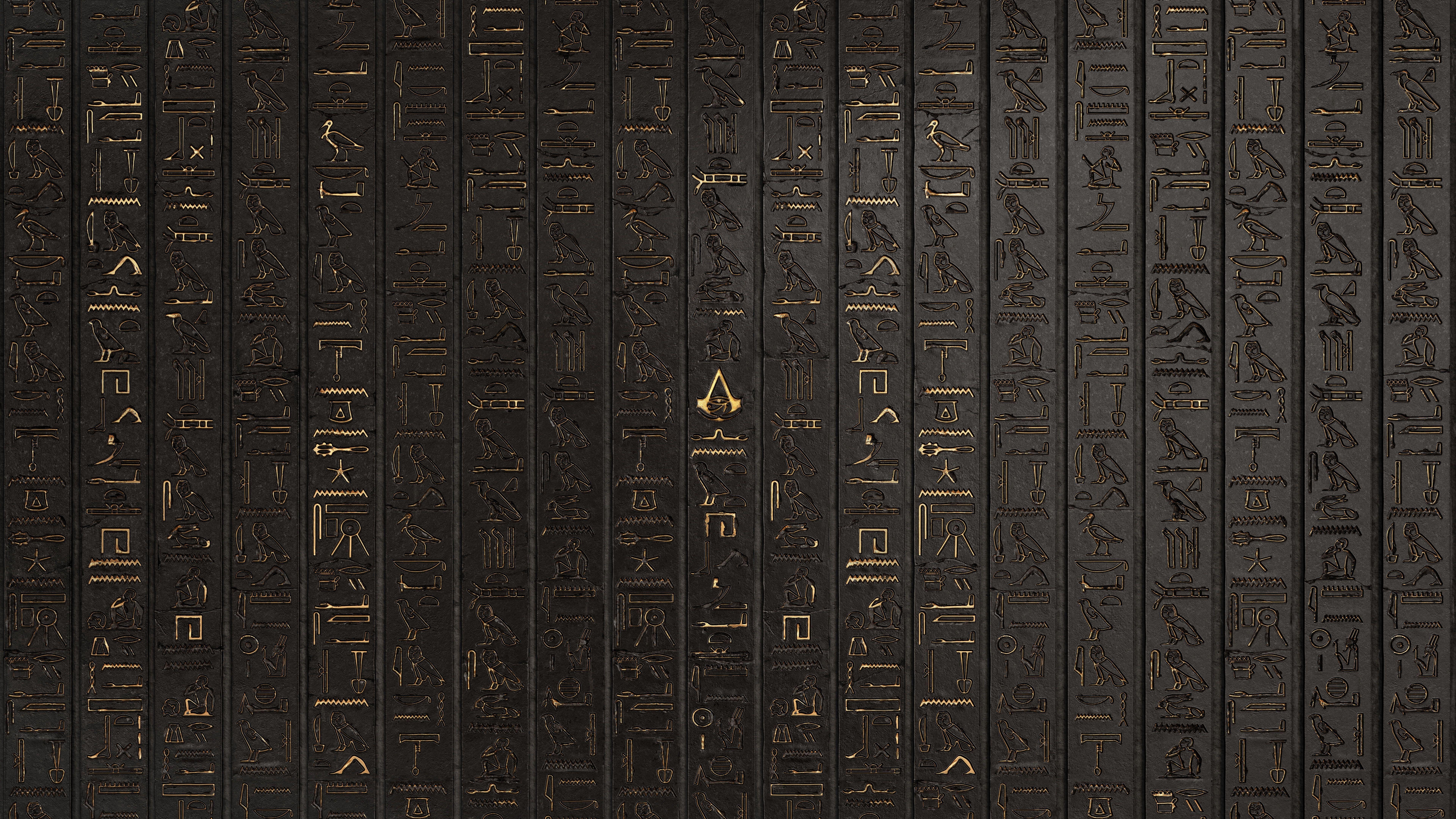 Hieroglyphics Digital Art Artwork Video Games Assassin S Creed