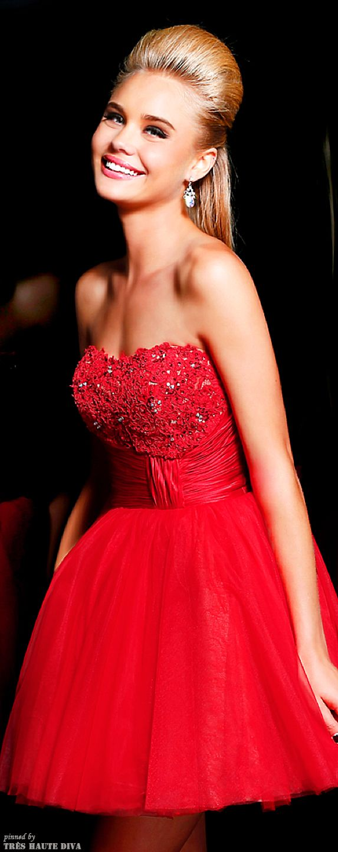 Sherri hill collection fashion little red dress pinterest