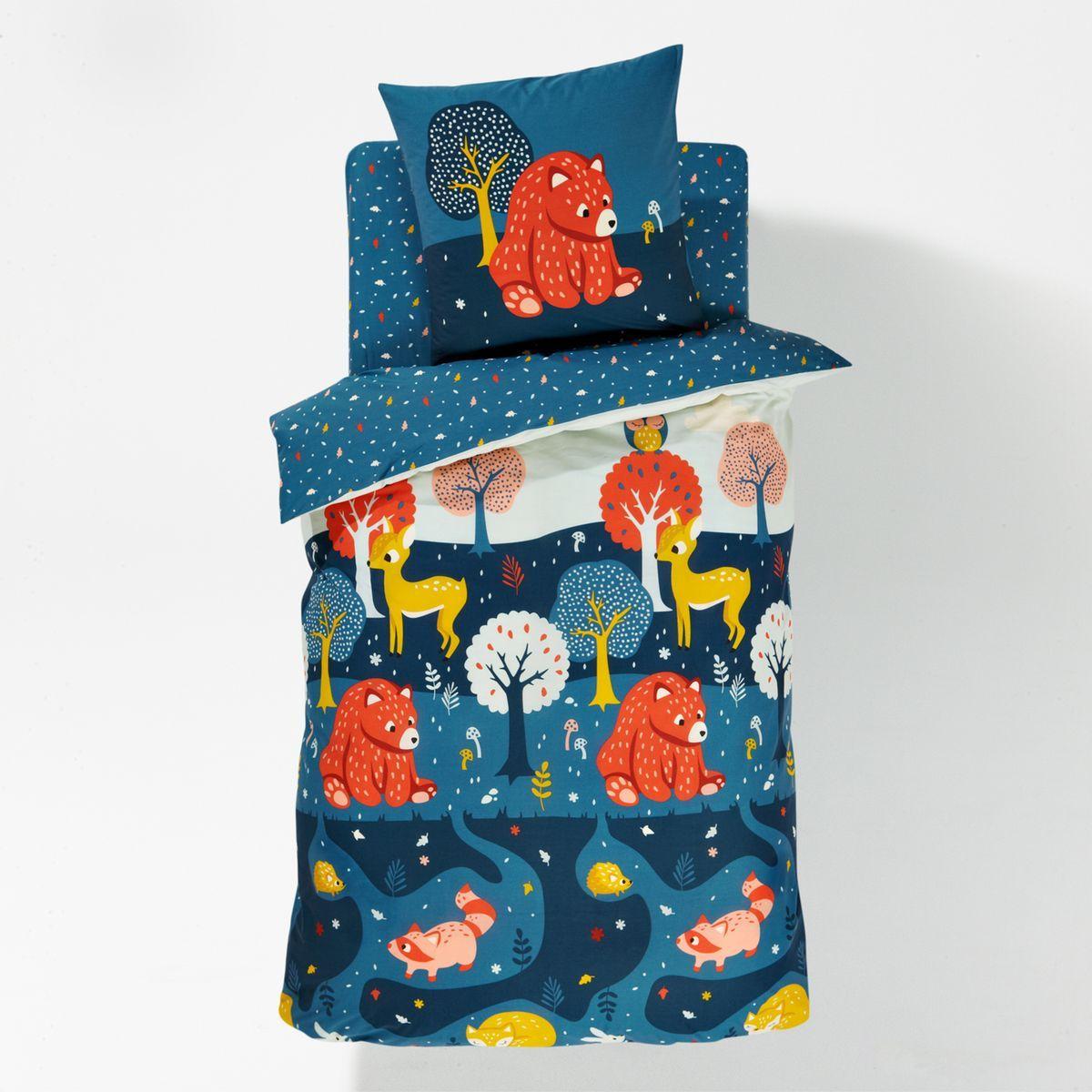 housse de couette enfant orsi for t fantastique housse. Black Bedroom Furniture Sets. Home Design Ideas
