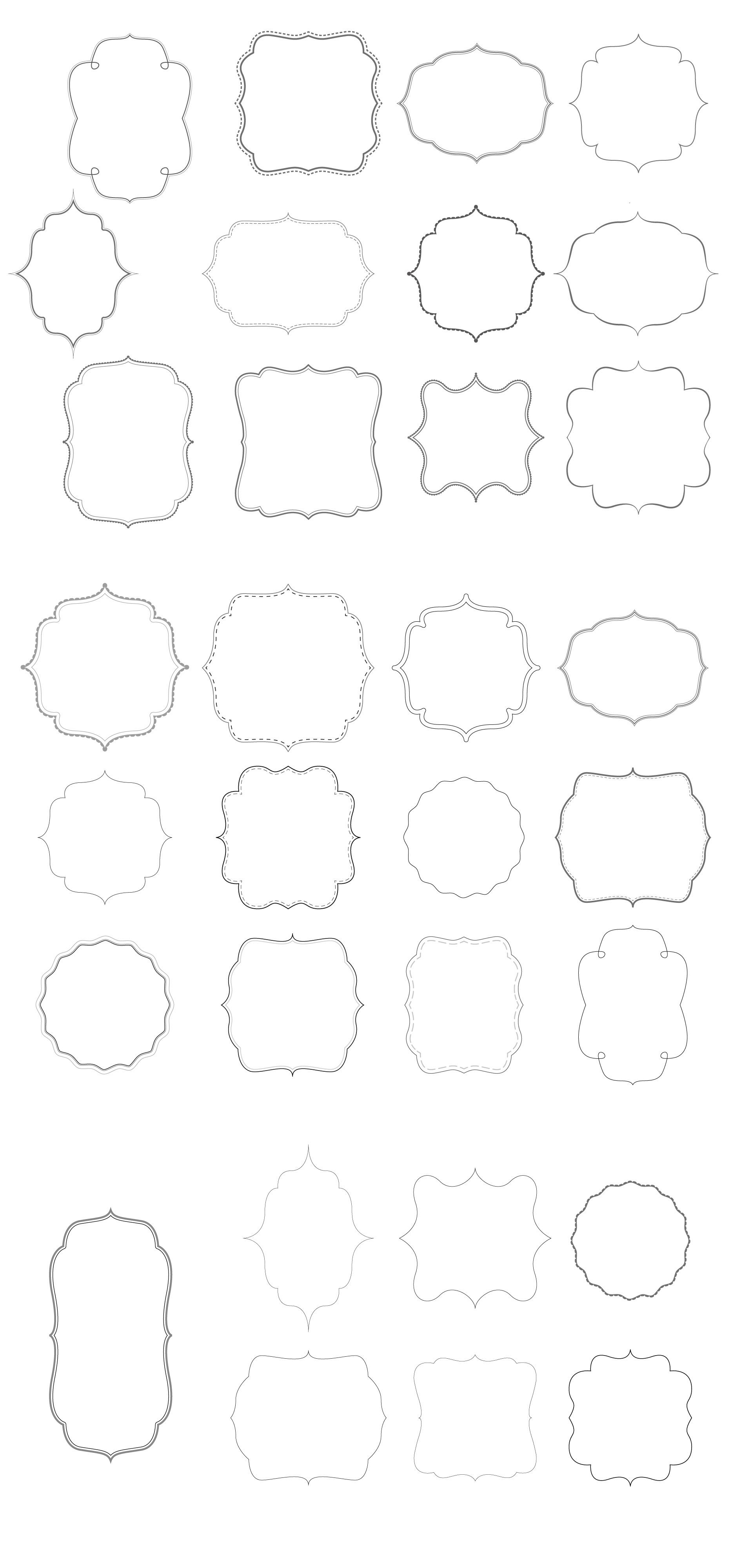 borders-from-puresweetjoy1.jpg 1,867×4,000 píxeles | TARJETAS ...