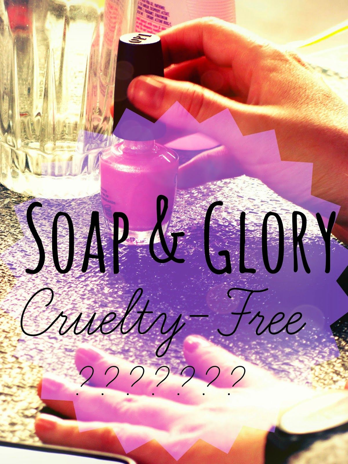 Soap and Glory Soap and glory, Free beauty products
