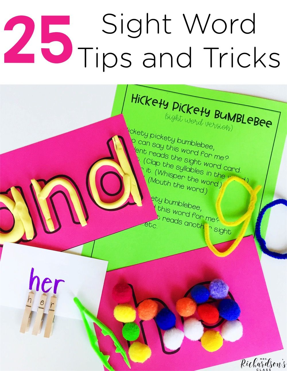 25 Sight Word Tips and Tricks   Pinterest   Englisch