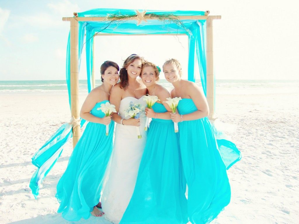 The perfect colors for your florida beach wedding this collection