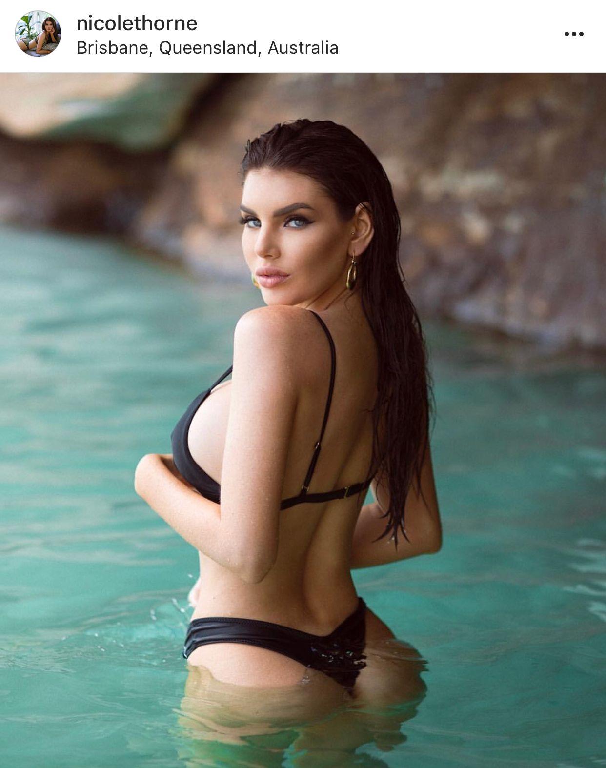 Bikini Nicole Thorne nude (81 foto and video), Topless, Leaked, Selfie, see through 2020