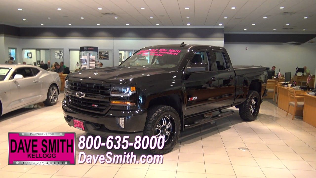 Congratulations To The Winner Of The Dave Smith Motors Custom Chevy Silverado Giveaway Youtube
