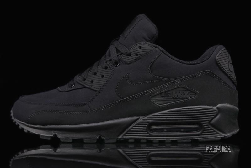 Nike Air Max 90 Black on Black Ripstop