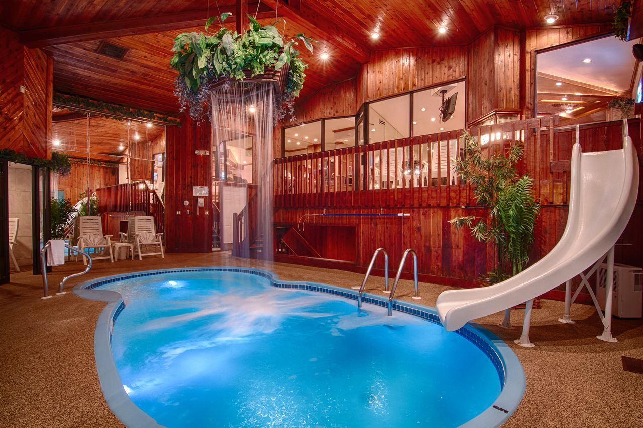 Chalet Swimming Pool Suite  Sybaris  Romantic Weekend