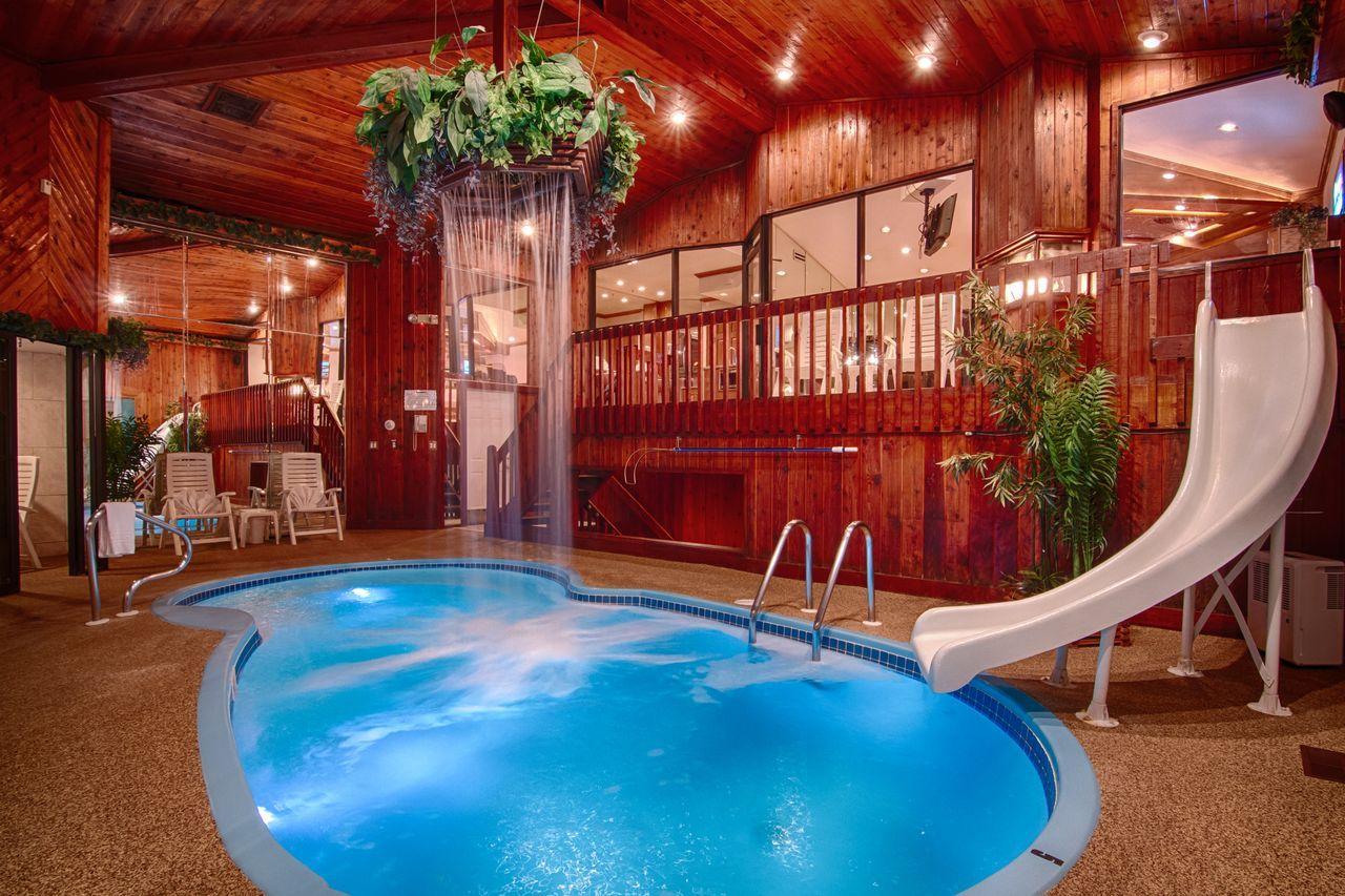 Chalet Swimming Pool Suite  Sybaris  Romantic Weekend