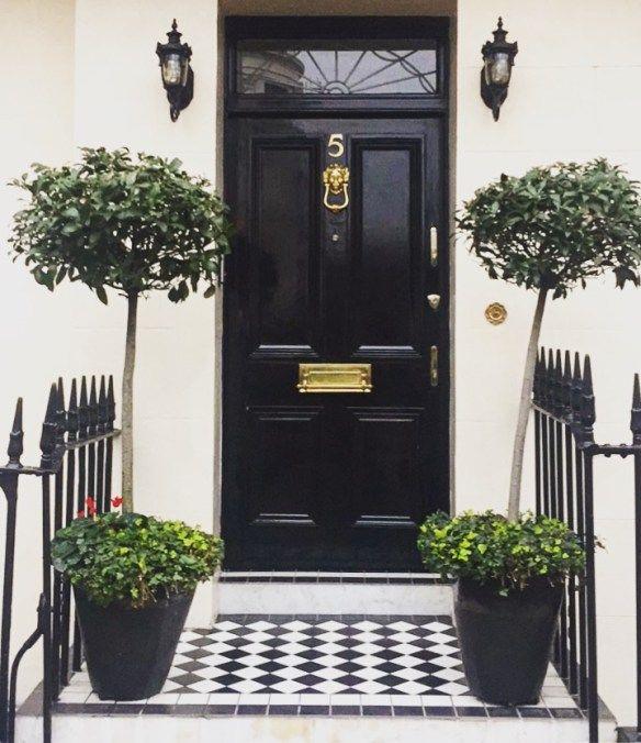 New 2 0 1 8 Front Door EntranceDoor EntryBlack - Simple black front door For Your Plan