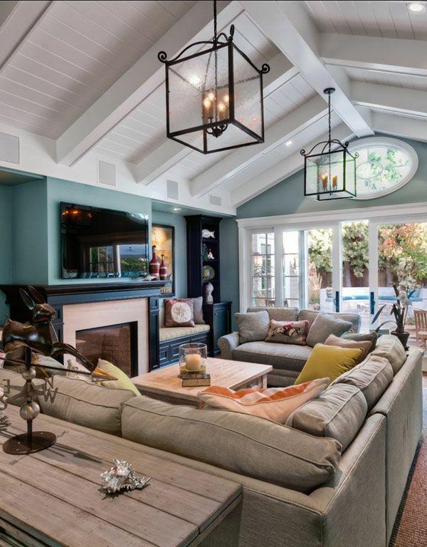 wohnzimmer kreativ mit modernen möbeln einrichten - Wie ein - kreative ideen wohnzimmer