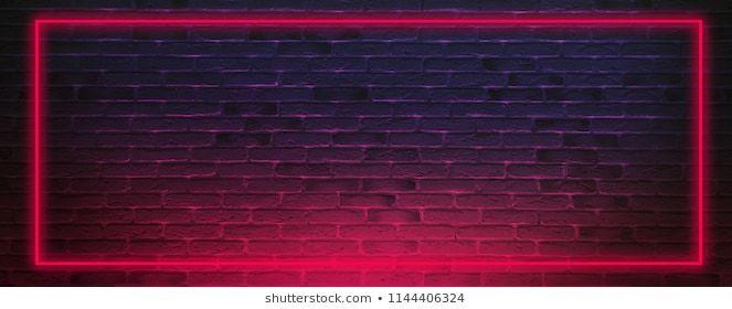 Brick wall, background, neon light (con imágenes) Fondo