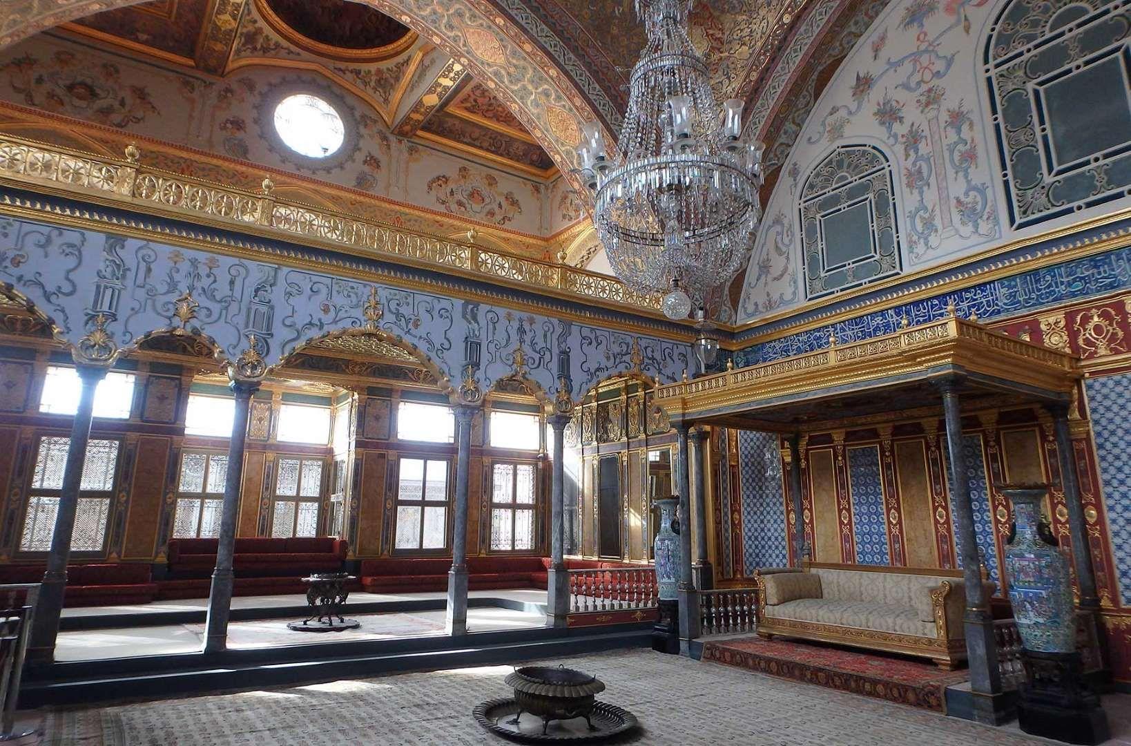 Harém do Palácio Topkapi, em Istambul - Turkey