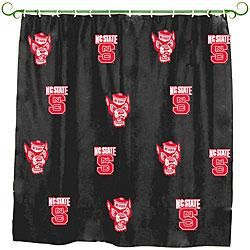 North Carolina State Wolfpack Shower Curtain North Carolina