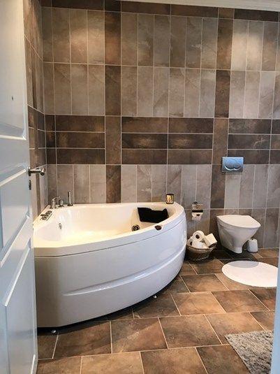 Badezimmer mit Whirlpool im Ferienhaus 2148 in Södermanland - ferienhaus 4 badezimmer