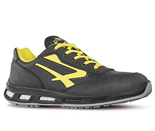 U de Power Zapatilla de Sun S1P Src zapato de seguridad para hombre, color Negro, talla 37 EU