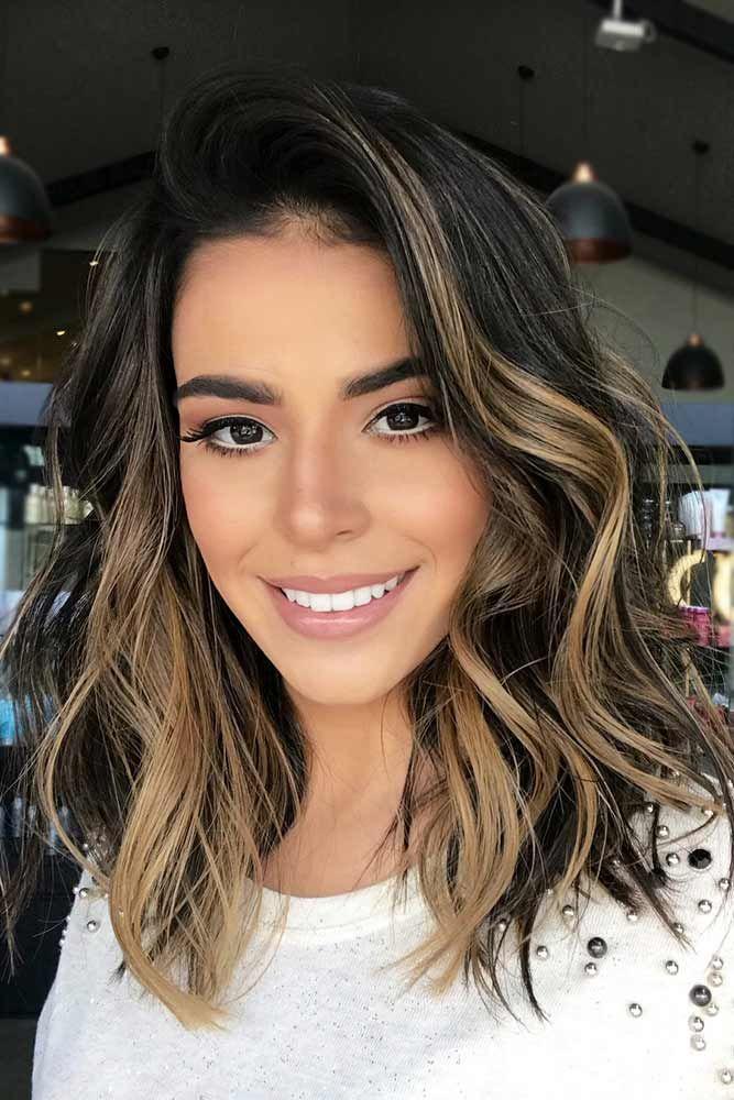 25 Popular Medium Haircuts For Women | Short hair styles, Hair lengths, Hair highlights