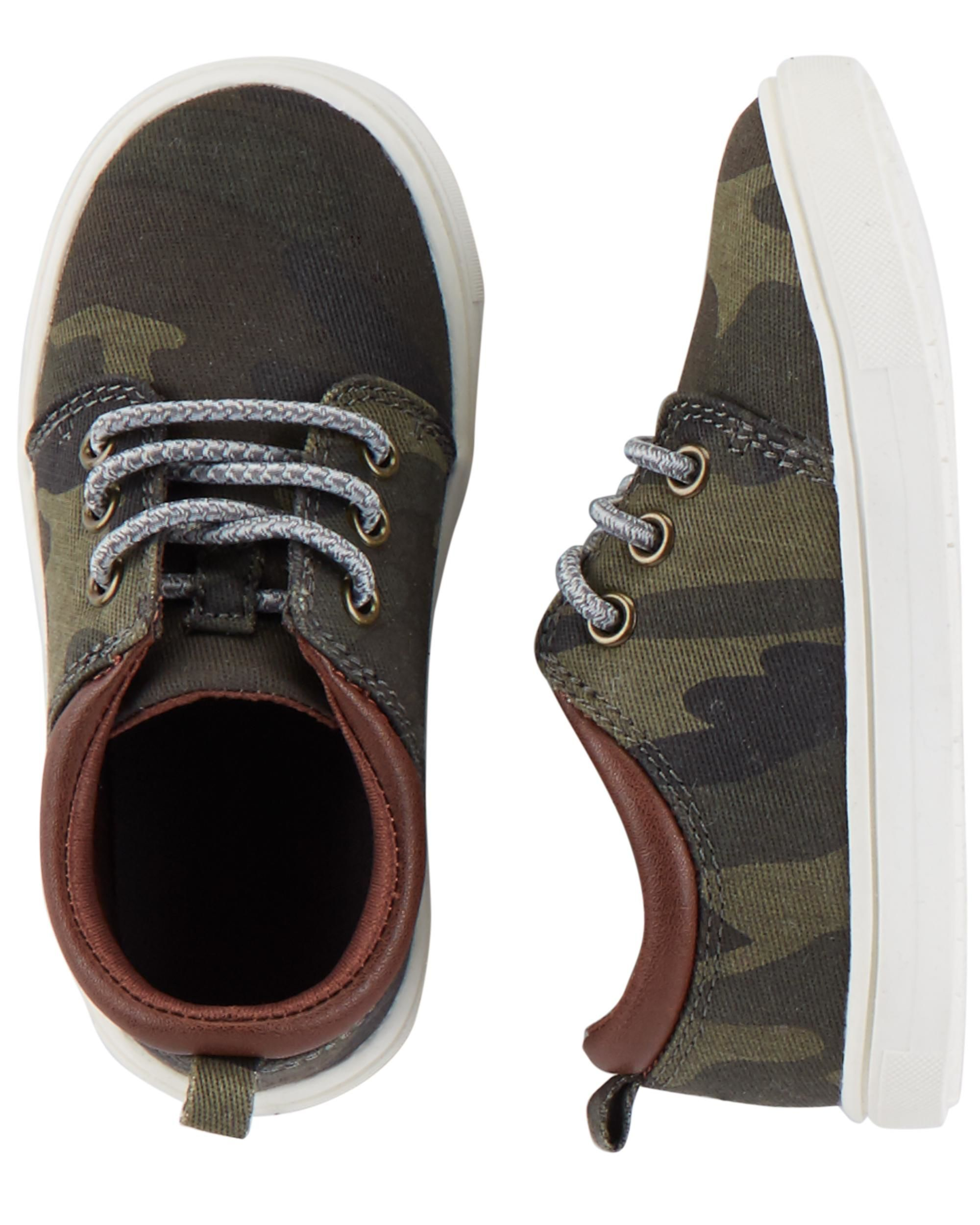 f3fc2c929f Carter s Camo Casual Sneakers