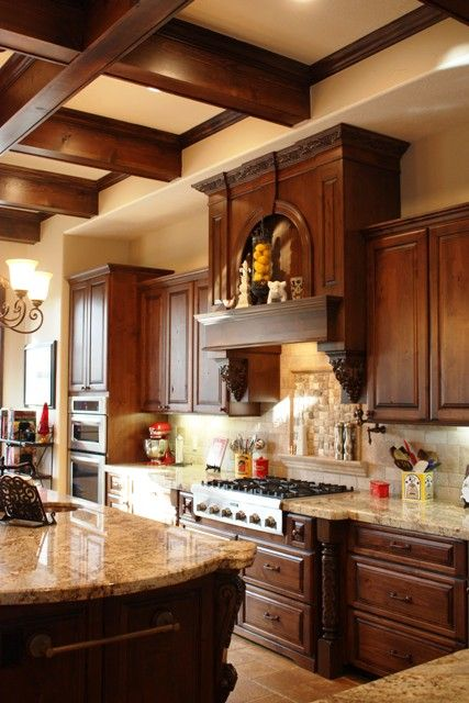An old world kitchen we designed for some of our best ...