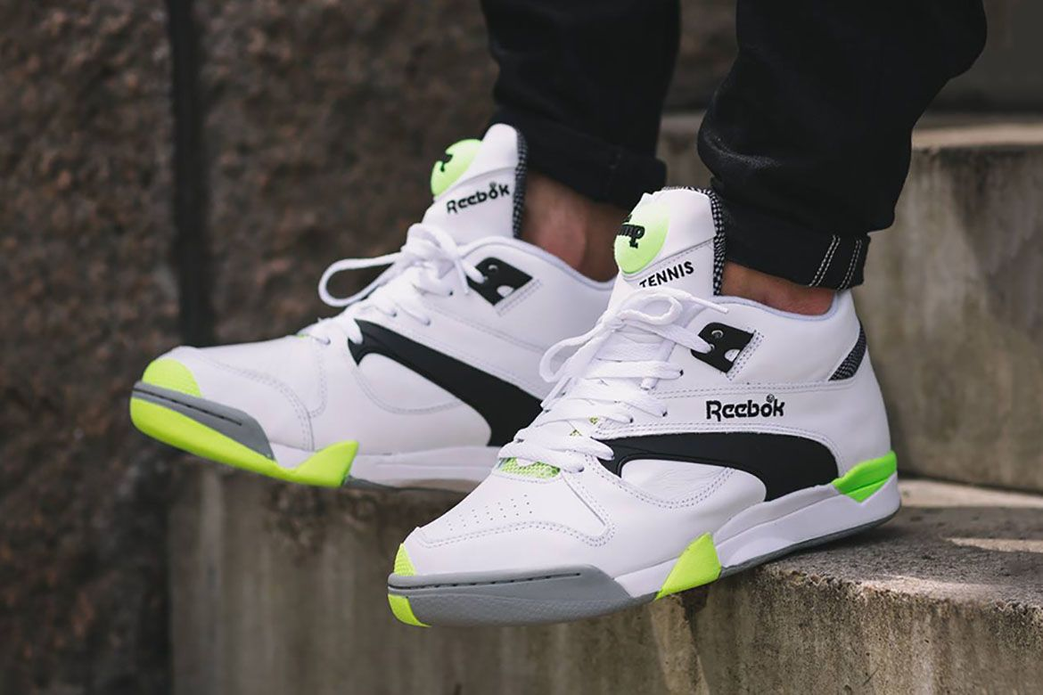 Reebok Brings Back the Court Victory Pump | Basket montant