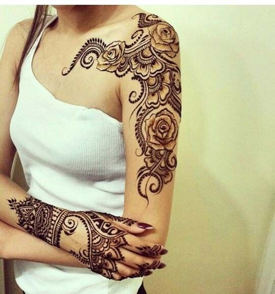 Full Body Mehndi Design