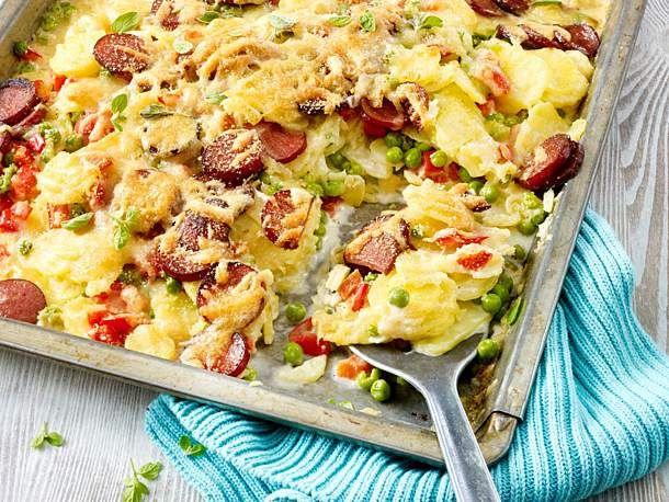 Photo of Potato bake with Kabanossi recipe DELICIOUS