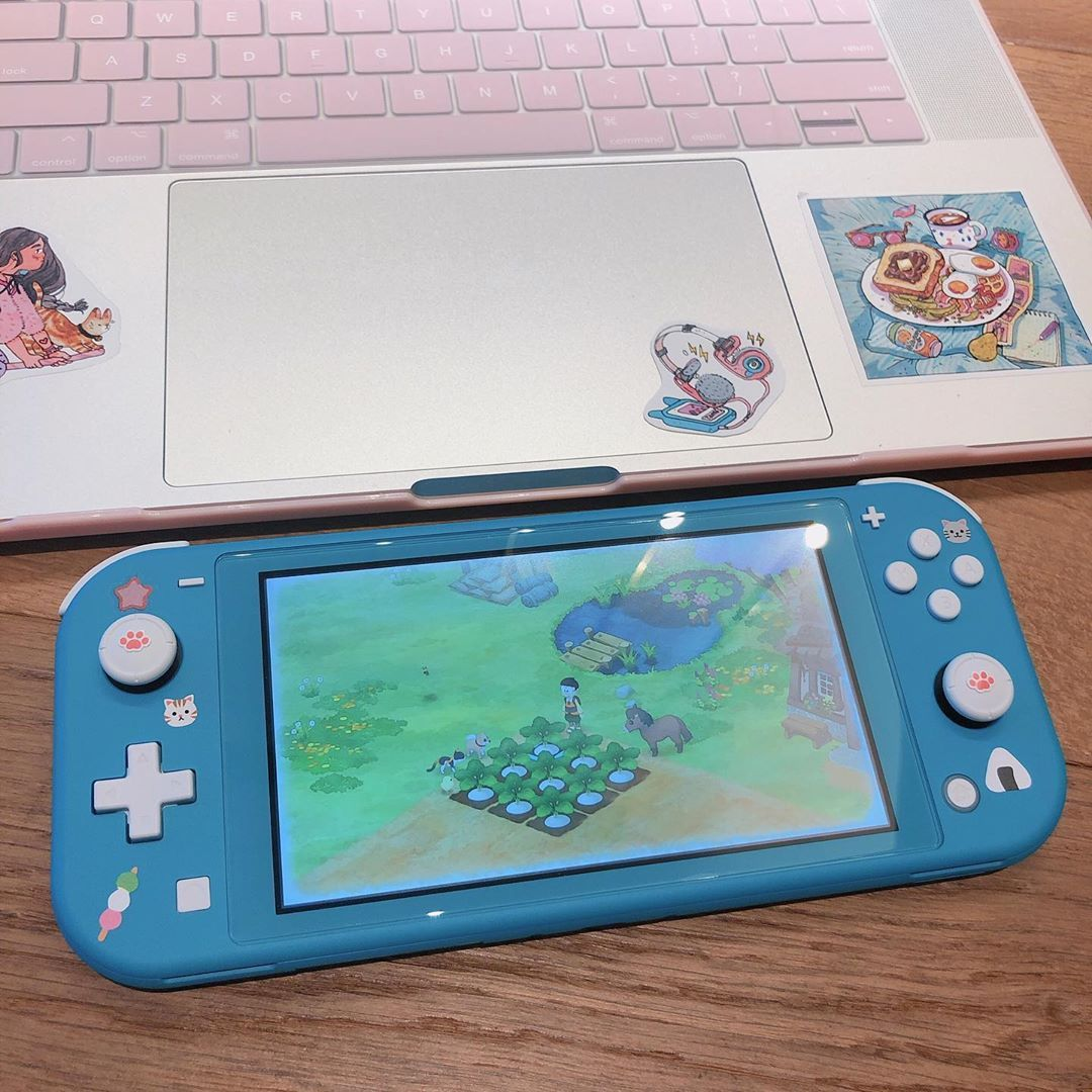 Console Nintendo Switch Lite Laptop Macbook Nintendo Switch
