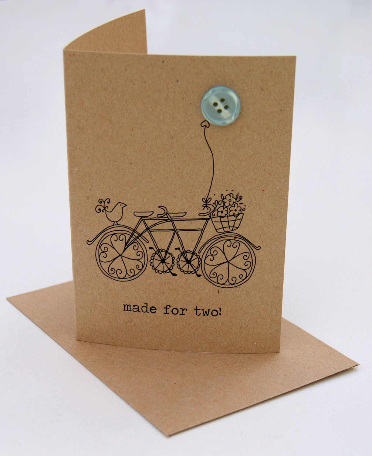 Made For Two Button Box Card Box Cards And Card Ideas