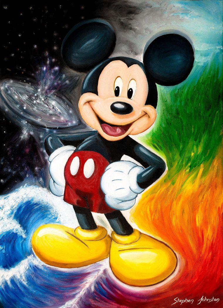 Mickey Mouse by STE-J-ART
