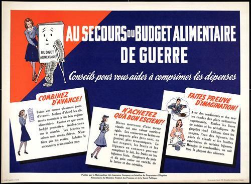 Title Au Secours Du Budget Alimentaire De Guerre Dimensions 56