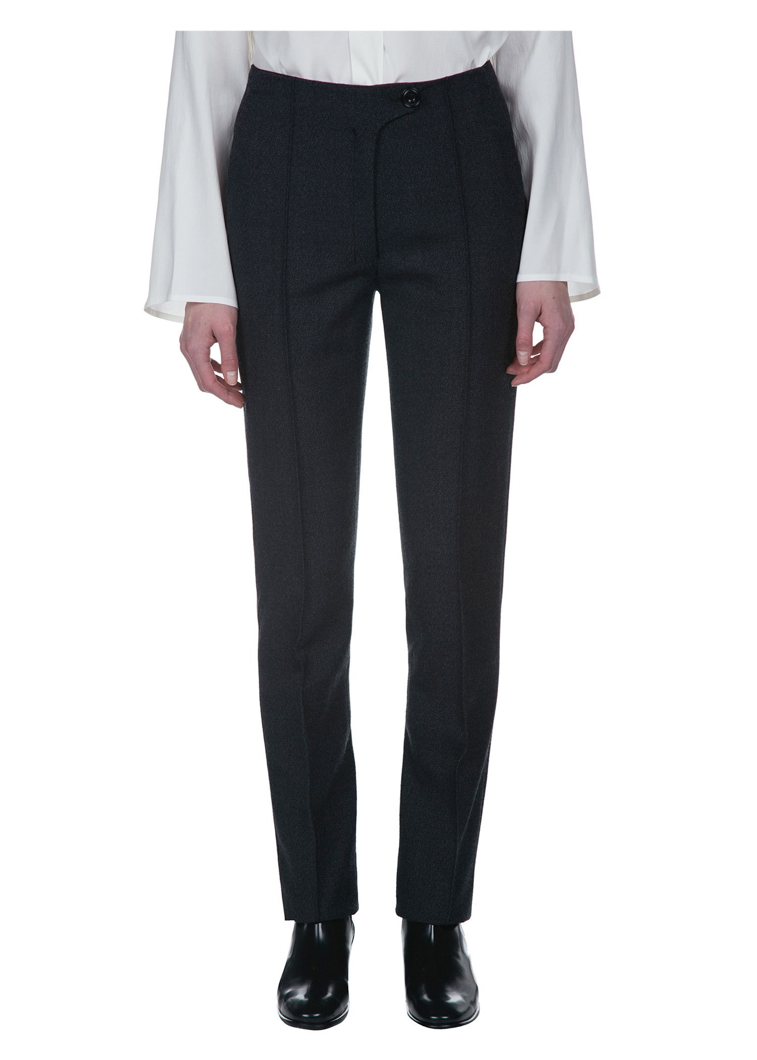 Pleated Wide-leg Wool Pants - Black Christophe Lemaire View Sale Online Discount Online Best Seller For Sale Sast Fast Shipping QWG2KjQ