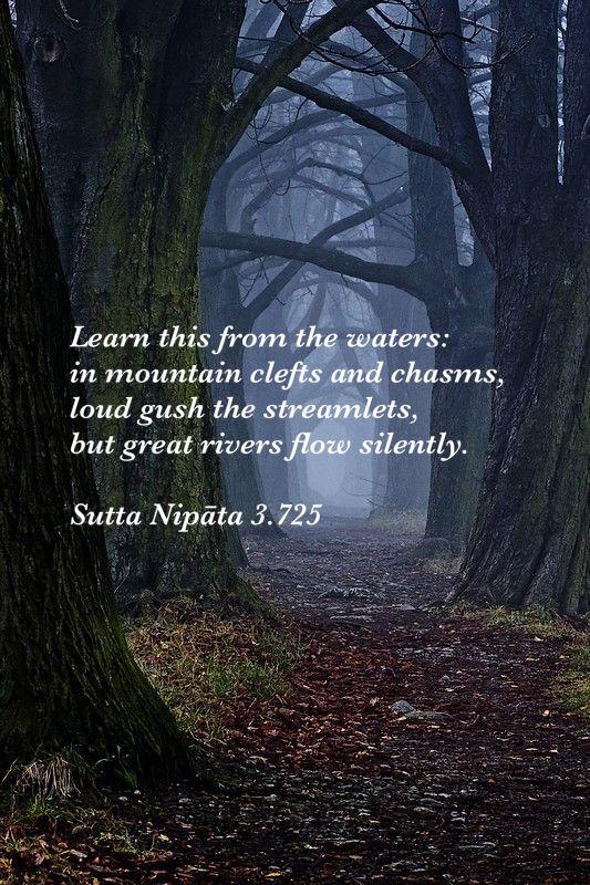 Sutta Nipata 3.725, Theravada Buddhism