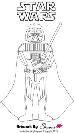 darth coloring pages