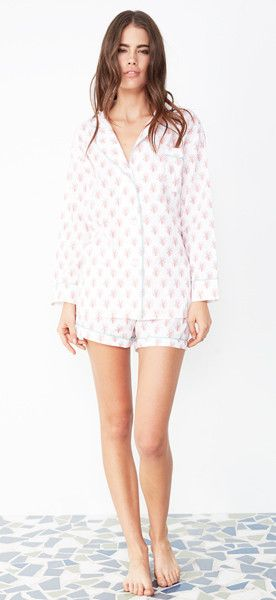 Lorient Block Print Short Pajama Set-- in stock  115 366d42e6f