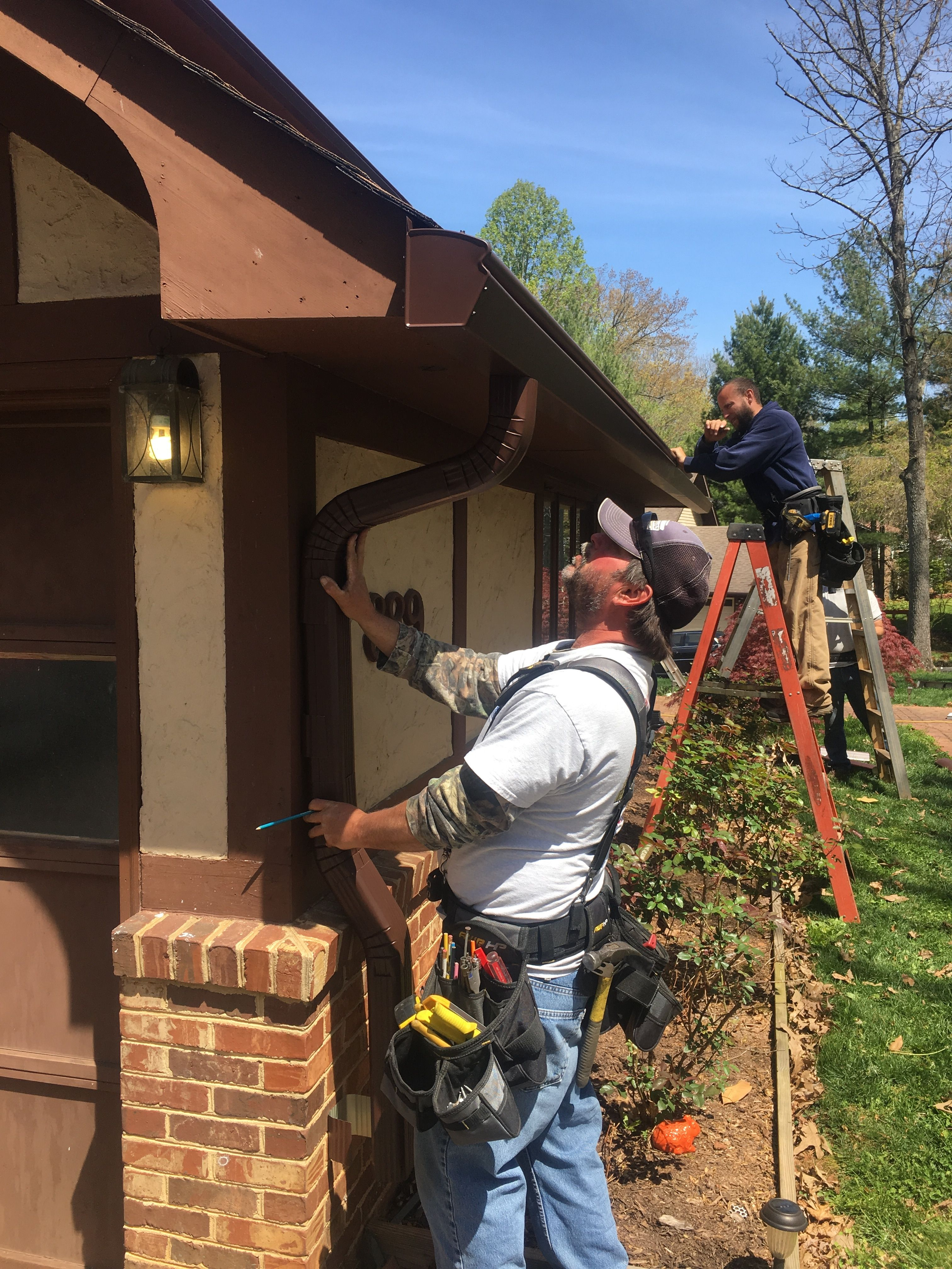 Our Professional Installers Take Extra Care To Get Every Detail Right Cleaning Gutters Roof Repair Lynchburg