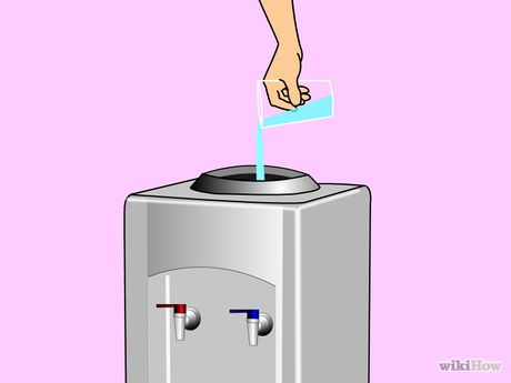 How To Clean A Water Dispenser 10 Steps With Pictures Clean Water Dispenser Water Dispenser Diy Cleaning Products