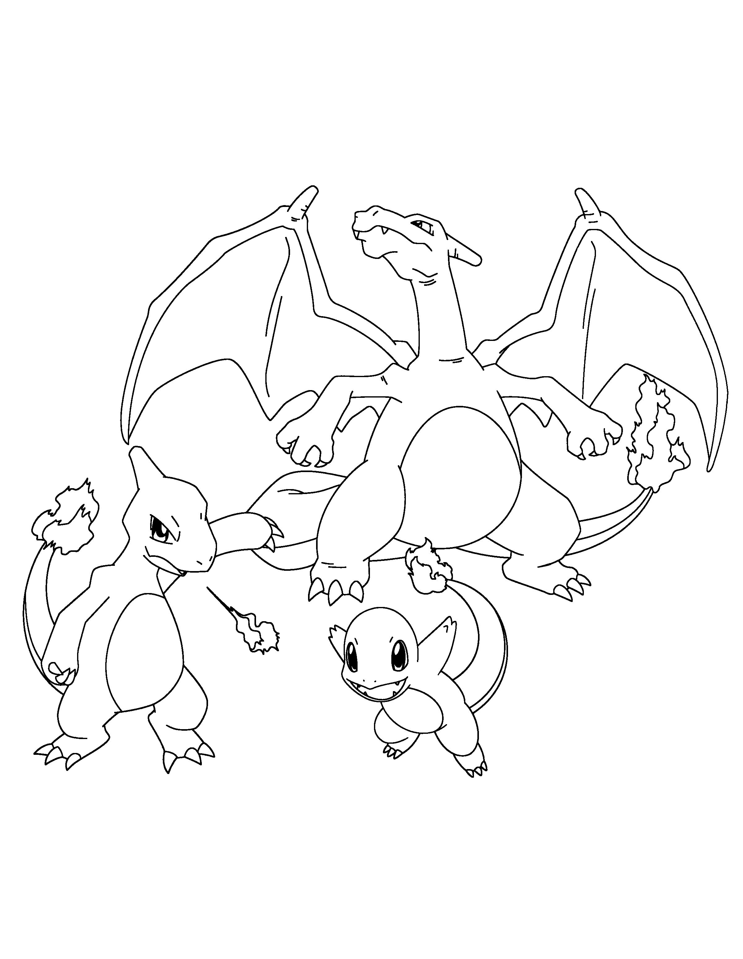 Pokemon Kleurplaten Riolu.Pokemons Kleurplaten Charmander Olivinum Com Charmander Home