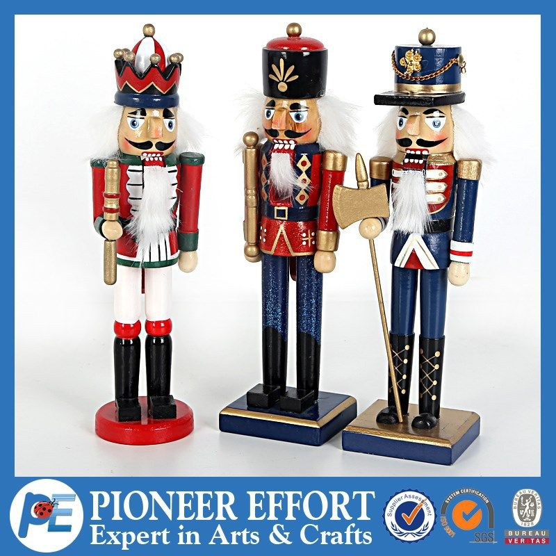 wooden soldier nutcracker for christmas decorations view wooden soldier nutcracker pe product details from