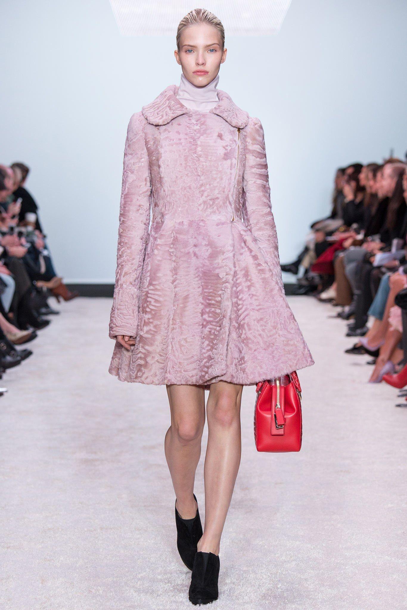 Pink swakara coat