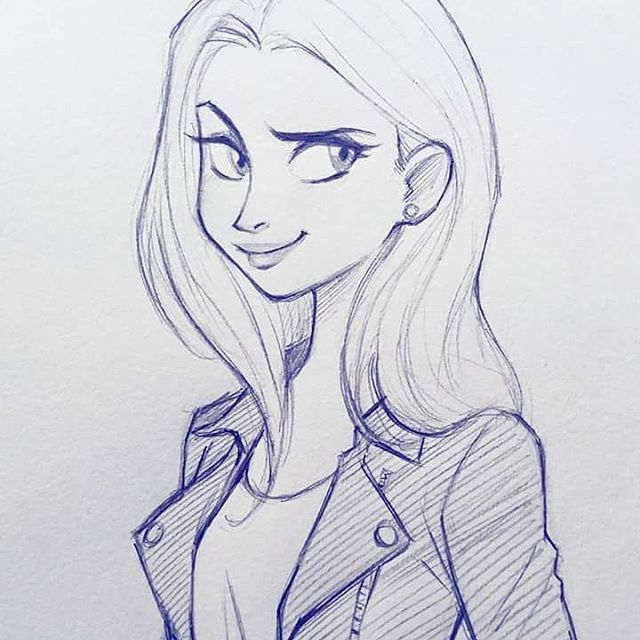 Love The Jacket Art Drawings Sketches Art Drawings