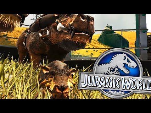 awesome Ark Survival Evolved - DAEODON BREEDING, JURASSIC WORLD FENCES - (EP3 Ark Modded)