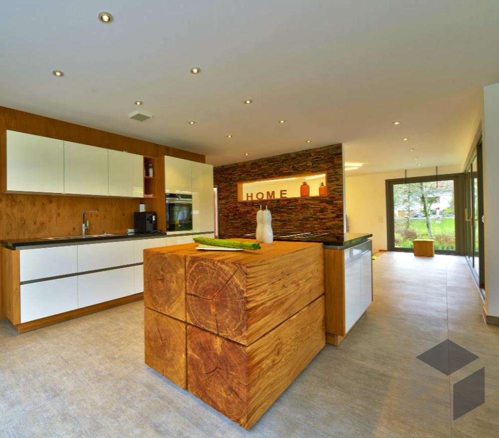 Küchen Impression aus einem Büdenbender Haus Auf der