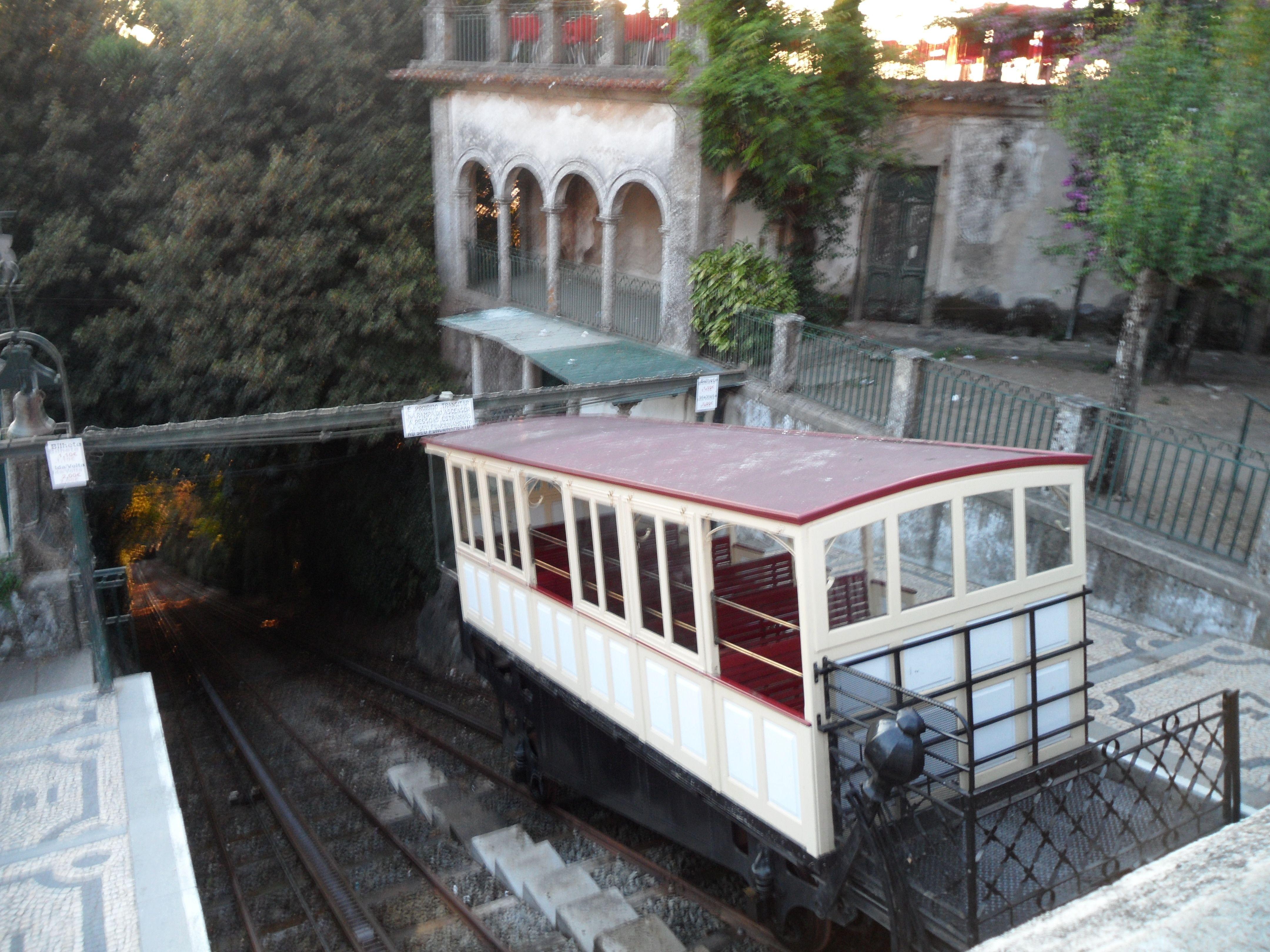 Funiculaire de Bom Jesus à Braga Portugal