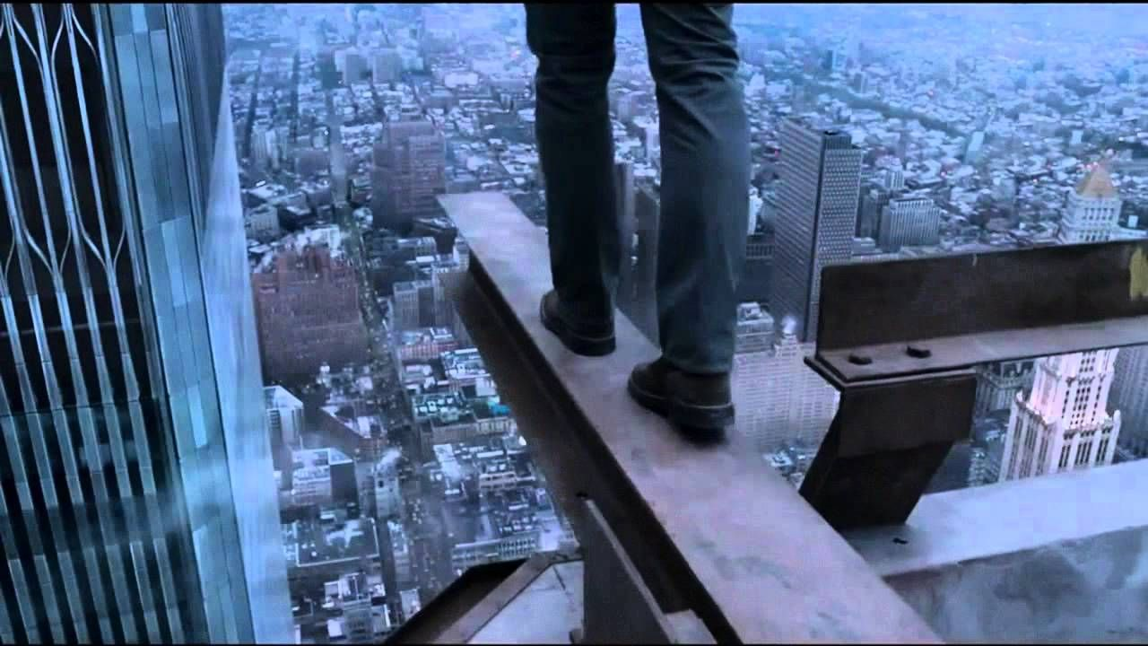 The Walk, looks like a great movie! This is what we see every day ...