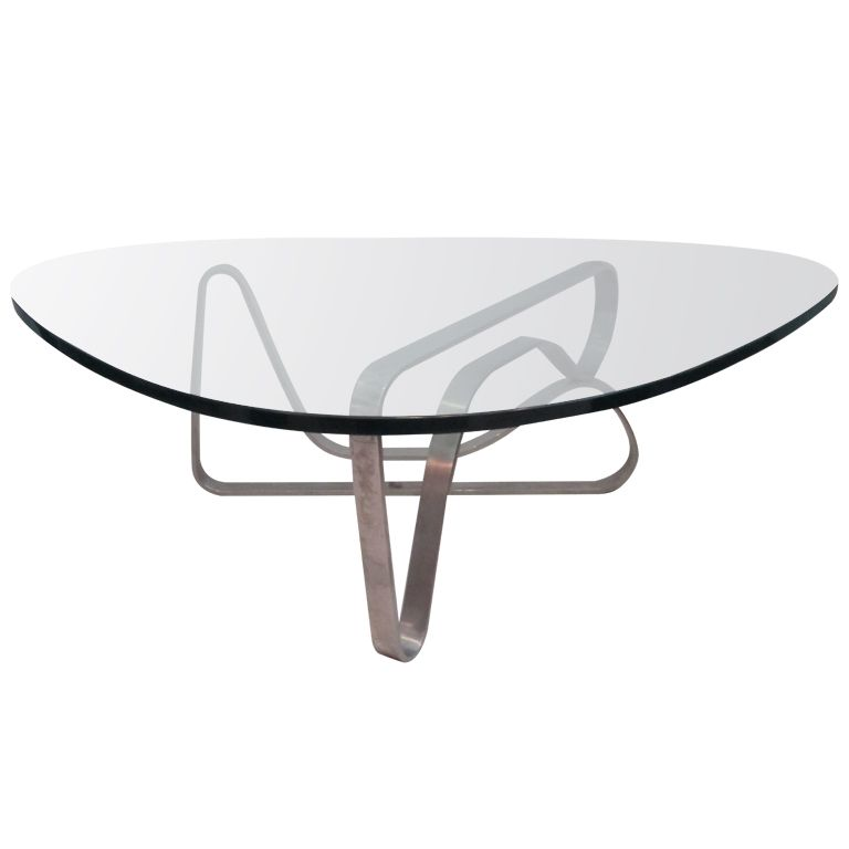 Noguchi Style Steel Coffee Table | Pinterest | Steel coffee table ...