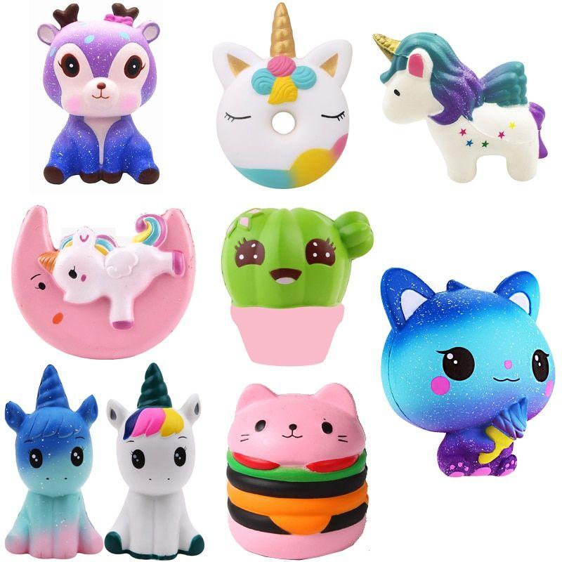 Cheap Pu Unicornio Oso Animales Squishy Jumbo Cute Slow Rising Kawaii Squish Juguete Para Ninos A Juguetes De Unicornio Juguetes Antiestres Juguetes Para Ninas